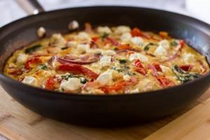 capsicum omelet